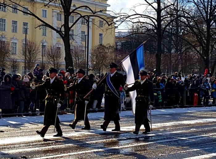 Viron itsenäisyyspäivän paraati - Ville Kilpiä