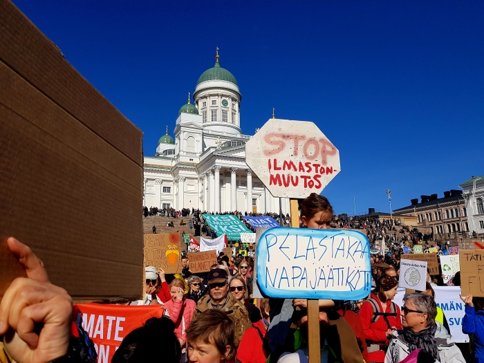 Ilmastonmuutos on globaali uhka - Ville Kilpiä